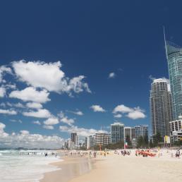Gold Coast Beach & Skyline Surfers Paradise