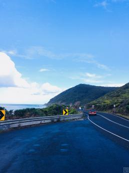 Great Ocean Road Australia beach view
