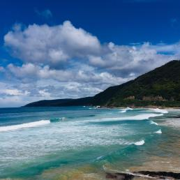 Great Ocean Road Australia View before Lorne