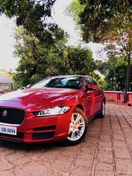 Jaguar XE at Citrus Chambers Mahabaleshwar
