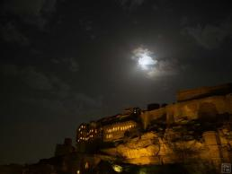 Jodhpur Mehrangarh Fort at Night Beautiful View from Chokeloa