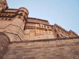 Mehrangarh Fort Jodhpur Exterior