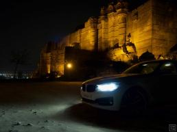 BMW 3 Series in Jodhpur Mehrangarh Fort