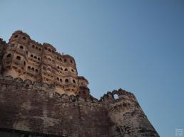 Jodhpur Mehrangarh Fort during the day