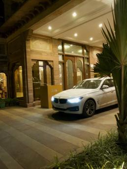 BMW 3 Series GT at Radisson Jodhpur