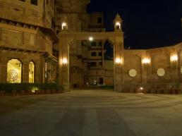 Radisson Jodhpur Hotel at night