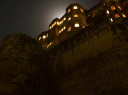 Jodhpur Mehrangarh Fort at Night