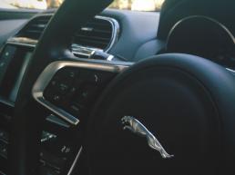 Jaguar XE Steering Wheel Interior