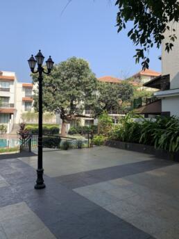 Rhythm Lonavala Courtyard